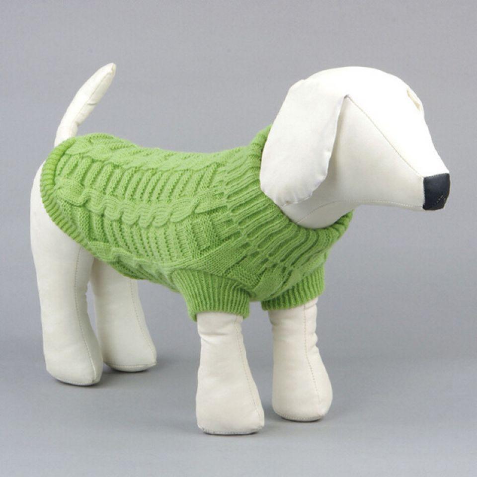 Cómo tejer un suéter para un perro - Perritos HC