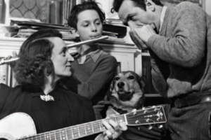 Apreciación musical por un perro