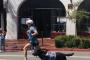 Pruebas olímpicas corredores y sus perros