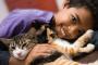 ¿Por qué los gatos son buenos para los niños?