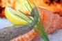 ¿Puede mi perro comer salmón crudo?